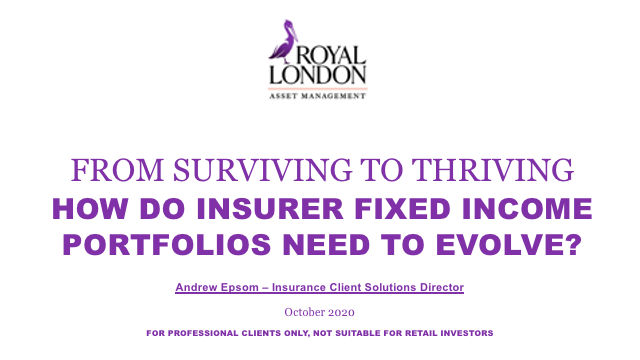 From surviving to thriving - insurer fixed income portfolios