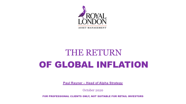 The return of global inflation