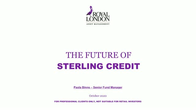 Future of Sterling Credit