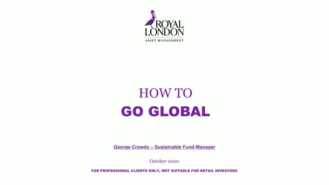 How to go global