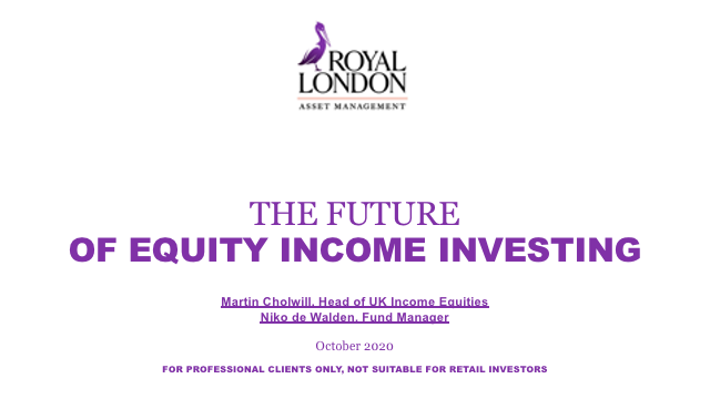 The future of equity income investing