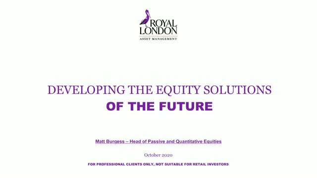 Developing the equity solutions of the future