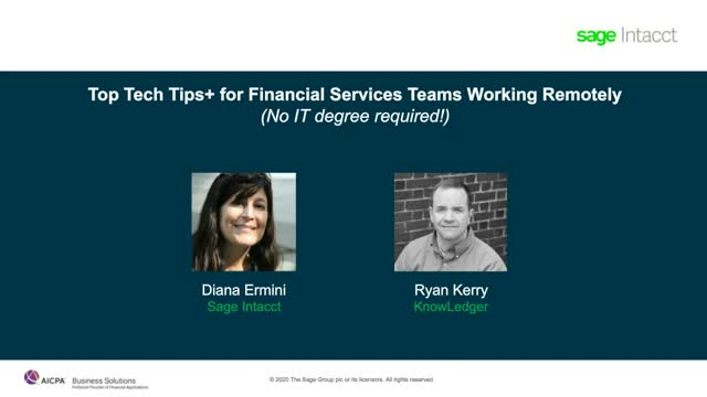 Top Tech Tips for Financial Services Teams Working Remotely