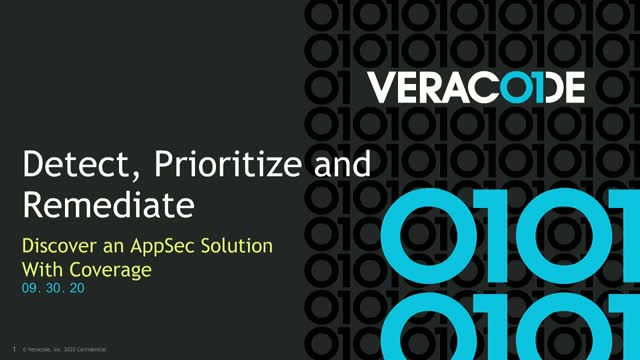 Detect, Prioritize and Remediate: Discover an AppSec Solution With Coverage