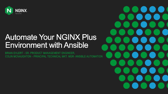 Automate Your NGINX Plus Environment with the Ansible