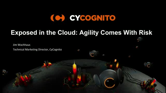 Exposed in the Cloud: Agility Comes With Risk