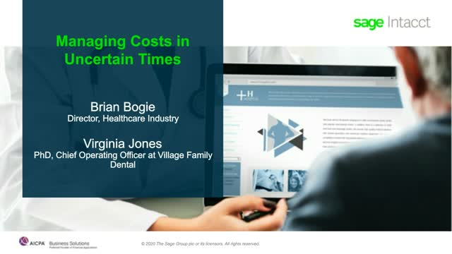 How Healthcare Finance Teams Manage Costs in Uncertain Times