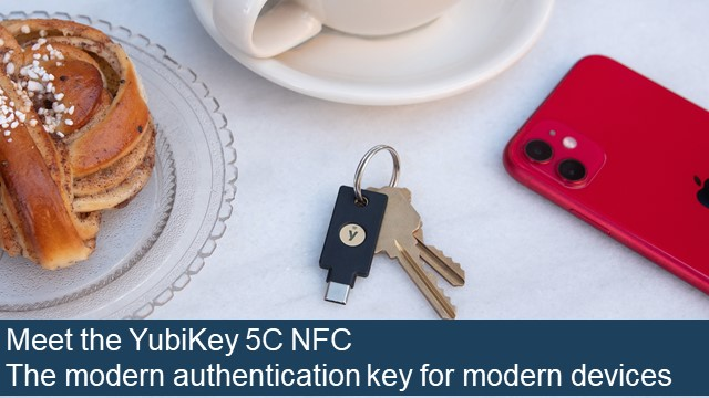 Meet the YubiKey 5C NFC
