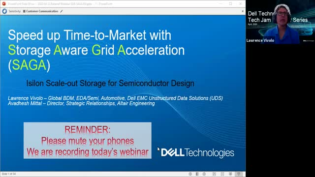 Tech Jam: Speed Up Time-to-Market with Storage-Aware Grid Acceleration