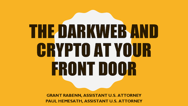 Darkweb & Crypto at the Door: Prevent Your Business and Life from Being Stolen