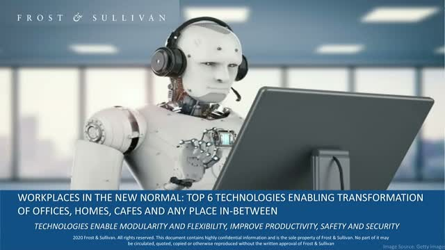 Workplaces in the New Normal: Top 6 Technologies Enabling Transformation
