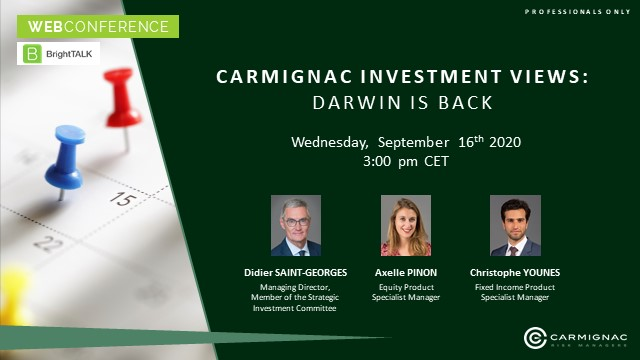 Carmignac Investment Views: Darwin is back