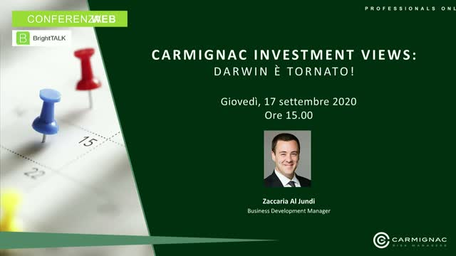 Carmignac Investment Views: Darwin è tornato!