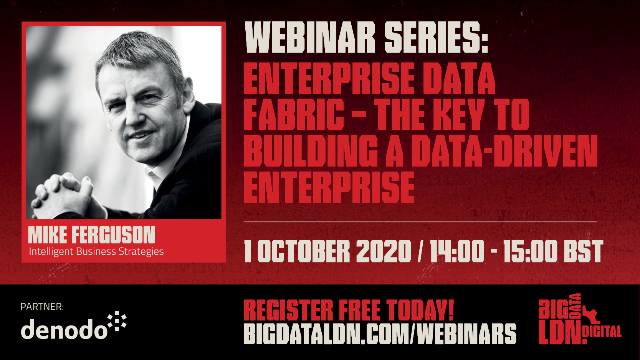 Enterprise Data Fabric – The Key To Building A Data-Driven Enterprise