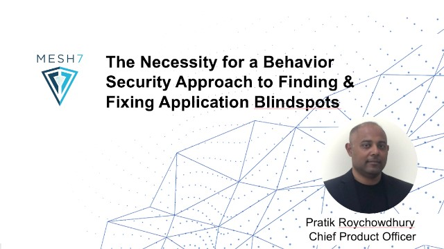 The Necessity for a Behavior Security Approach to Finding & Fixing Blindspots