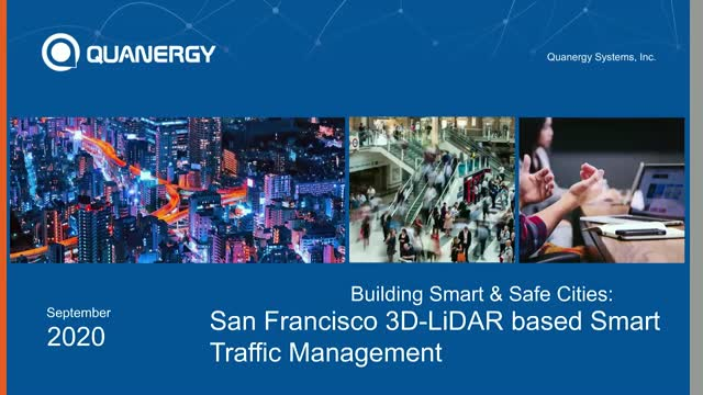 Building Smart cities:  San Francisco 3D-LiDAR based Smart Traffic Management