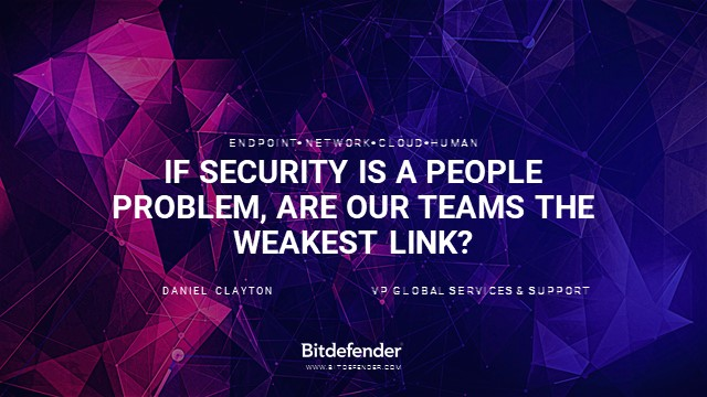If Security is a people problem, are our teams the weakest link?