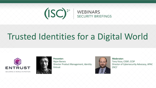 Trusted Identities for a Digital World