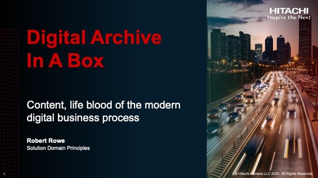 Digital Archive in a Box