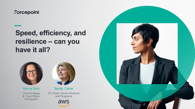 Speed, Efficiency, and Resilience – Can You Have it All?