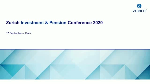 Zurich Investment and Pension Conference 2020