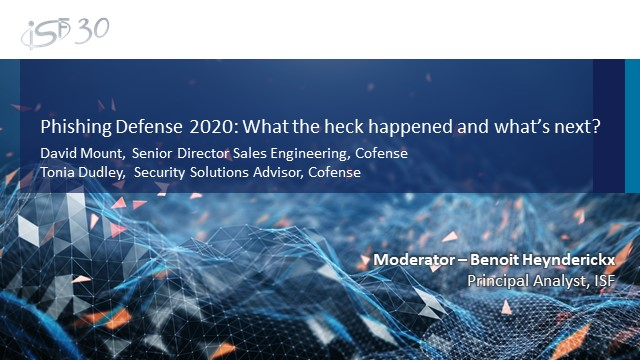 Phishing Defence in 2020: What the Heck Just Happened & What's Next?