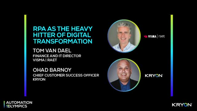 RPA as The Heavy Hitter of Digital Transformation