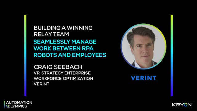 Building a Winning Team - Managing Work Between Robots & Employees