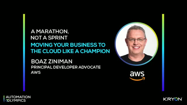 A Marathon, Not a Sprint - AWS