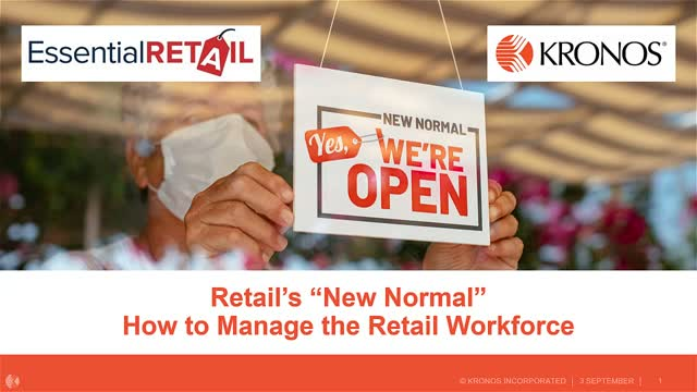 """Retail's """"New Normal"""" – how to manage the retail workforce"""