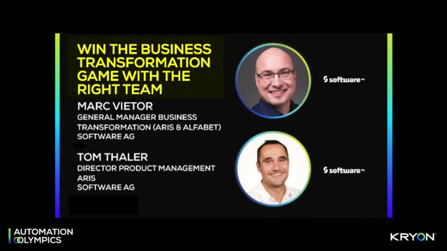 Win the Business Transformation Game with The Right Team - SAG