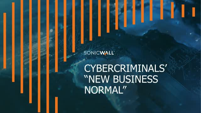 "Cybercriminals' ""New Business Normal"""