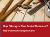 How strong is your Social Business? Learn more in this exclusive web interview!
