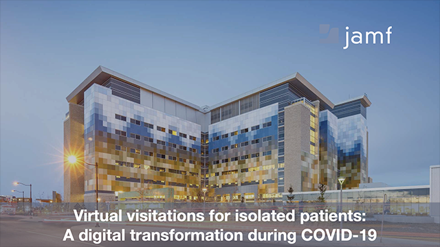 Virtual Visitations for Isolated Patients: A Digital Transformation during COVID