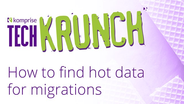 TechKrunch: How to find hot data for migrations