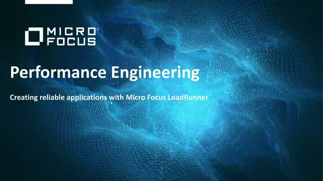 Creating reliable applications with Micro Focus LoadRunner