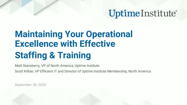 Maintaining Your Operational Excellence with Effective Staffing & Training