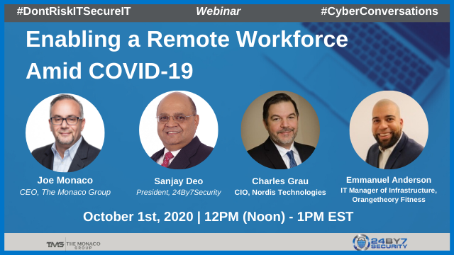 Enabling a Remote Workforce Amid COVID-19