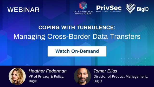 Coping with Turbulence: Managing Cross-Border Data Transfers