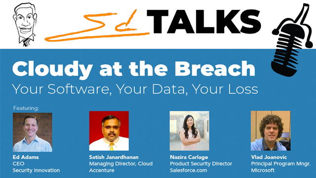 Cloudy at the Breach: Your Software, Your Data, Your Loss