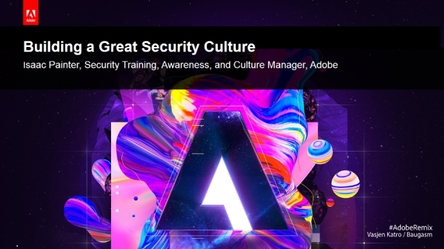 Building a Great Security Culture