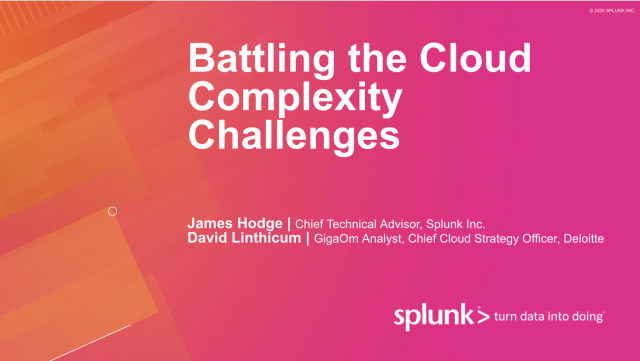 Battling the Cloud Complexity Challenges