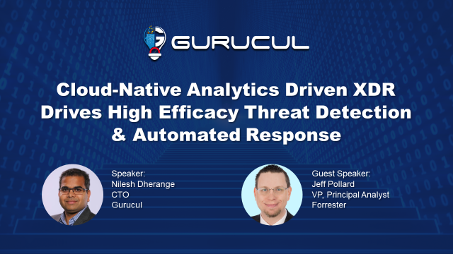 Cloud-Native Analytics Driven XDR Drives Better Threat Detection & Response