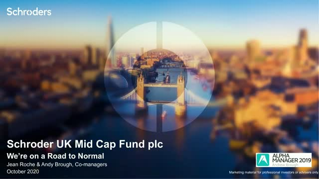 We're on a road to Normal with UK Mid Cap