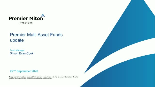 Premier Miton multi-manager, multi-asset webinar with Simon Evan-Cook