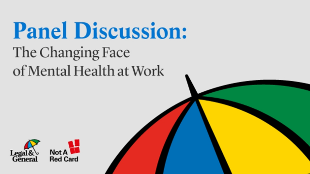 Panel discussion: The Changing Face of Mental Health at Work