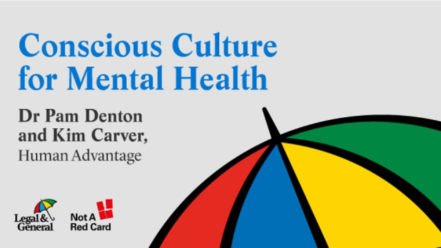 Conscious Culture for Mental Health