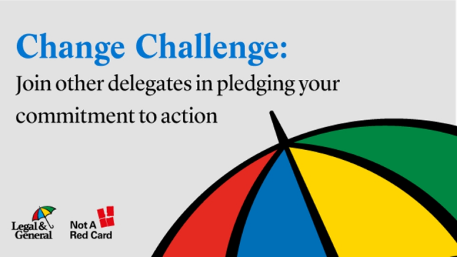 Change Challenge: Join other delegates in pledging your commitment to action