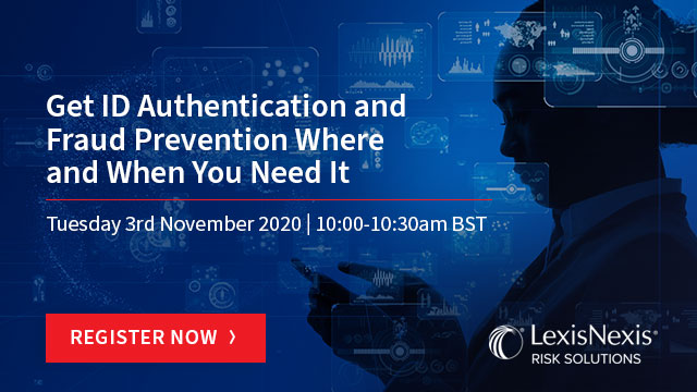Get ID Authentication and Fraud Prevention Where and When You Need It.