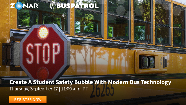 Create A Student Safety Bubble With Modern School Bus Technology